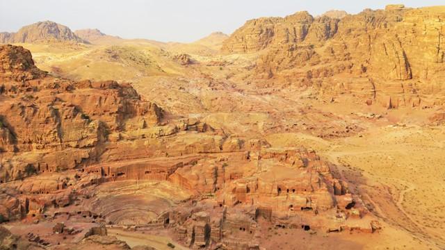 Jordanie Pétra randonnées Jabal al-Khubtha
