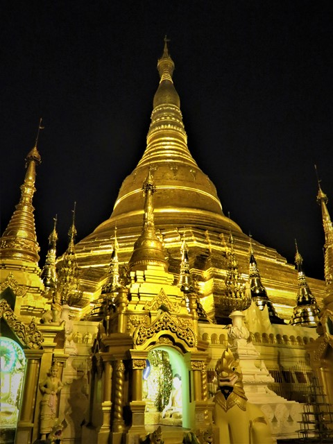 Myanmar Yangon pagode Shwedagon