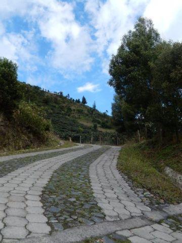 Equateur Banos Los ojos del volcan Tungurahua