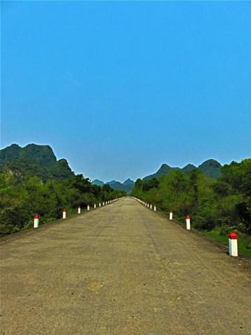 Vietnam Cat Ba route