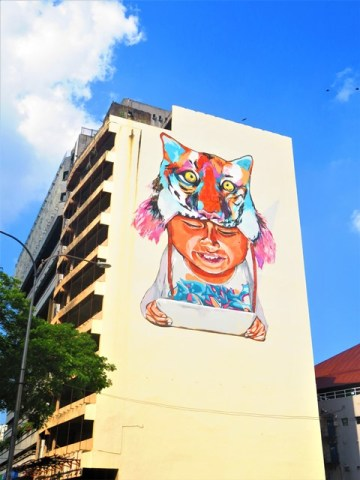 Malaisie Kuala Lumpur street art
