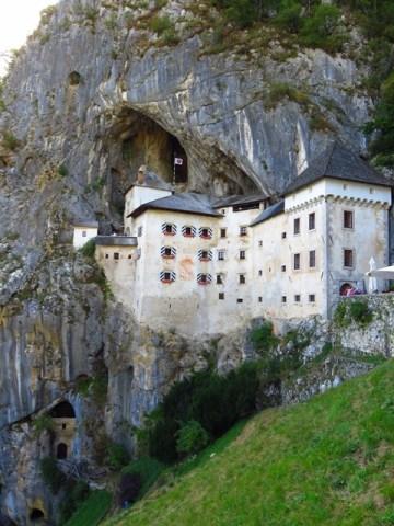 voyage slovénie chateau predjama
