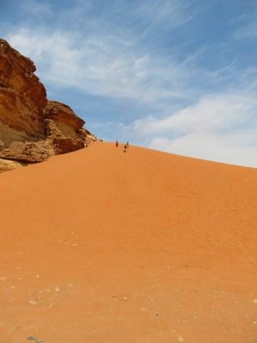 Jordanie désert Wadi Rum dunes sable