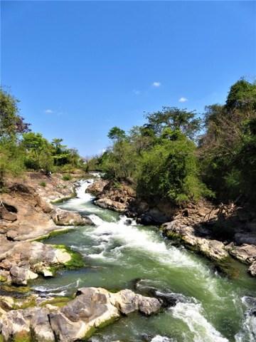 Laos 4000 îles Don Khone cascade Khon Pa Soi