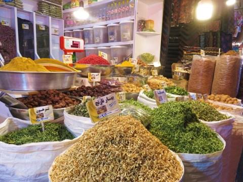 Iran Ispahan Bazar épices