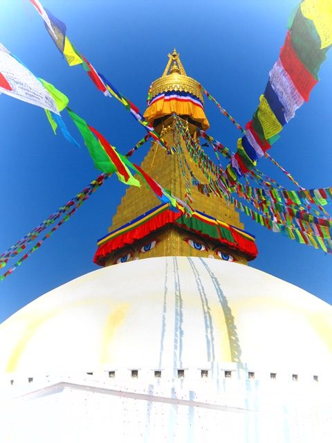 Népal Boudhanath stûpa