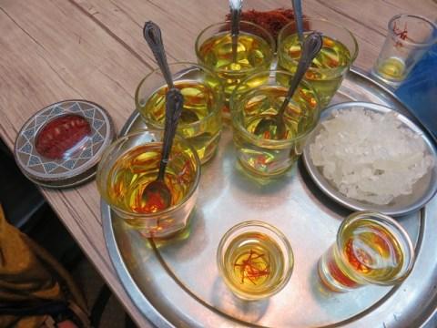 Iran Ispahan thé safran
