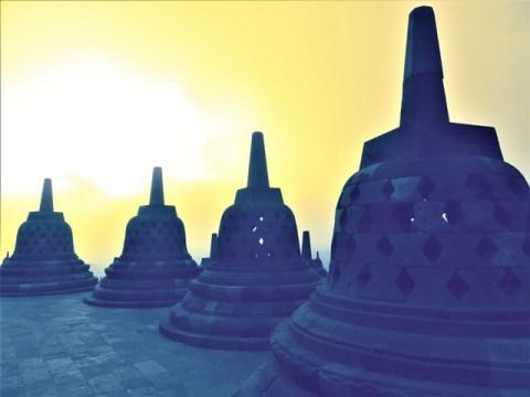 Java temple Borobudur