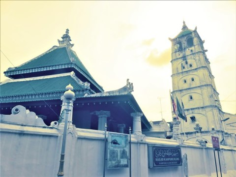 Malaisie Malacca mosquée