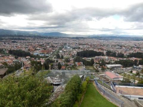 Equateur Cuenca Mirador de Turi