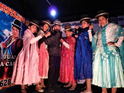 Bolivie La Paz Cholitas