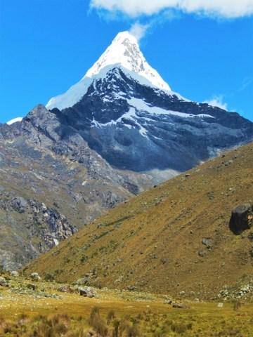 Pérou Cordillère blanche trek Santa Cruz Artesonraju