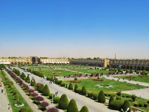 Iran Ispahan Place de l'Imam