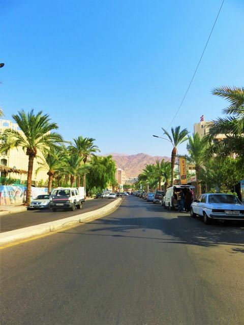 Jordanie Aqaba mer