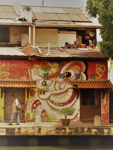 Malaisie Malacca street art