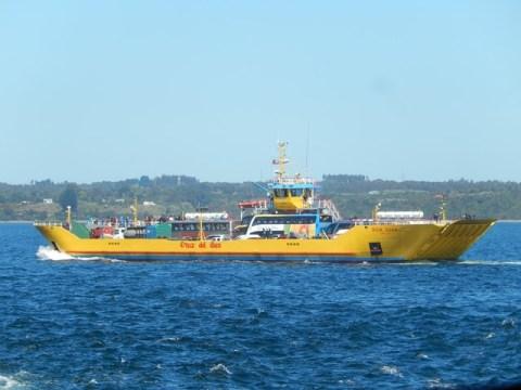 Chili Isla Chiloé bateau traversée
