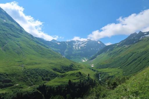 Trek du tour du mont blanc Suisse