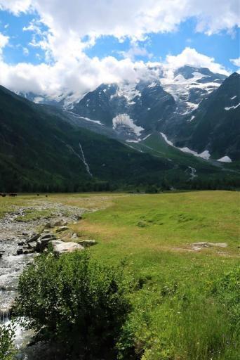 Trek du Tour du Mont Blanc Dômes de Miage