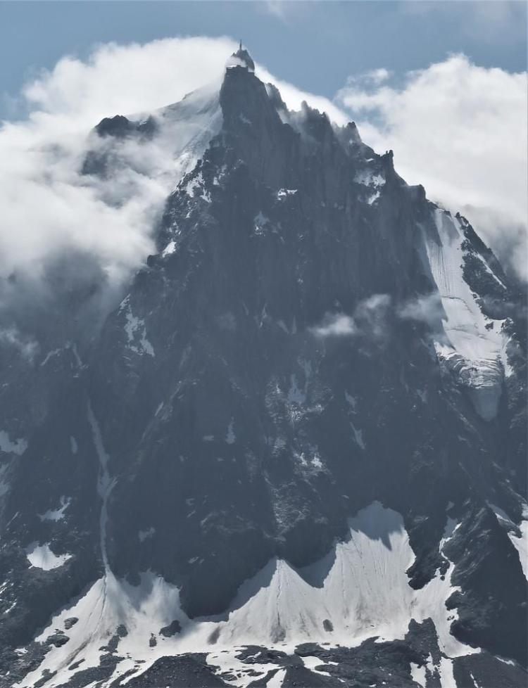 Trek du tour du mont blanc Aiguille du midi