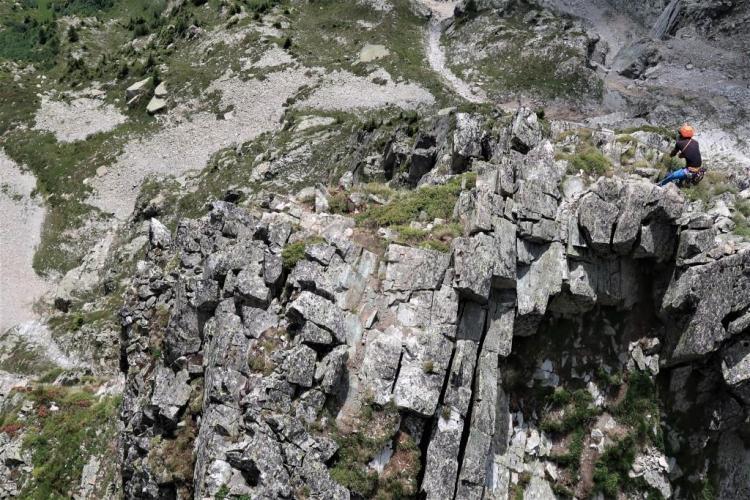 Trek du tour du mont blanc Brévent Escalade