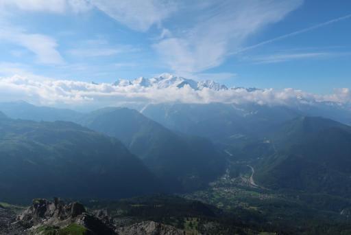tour des fiz passage derochoir mont blanc