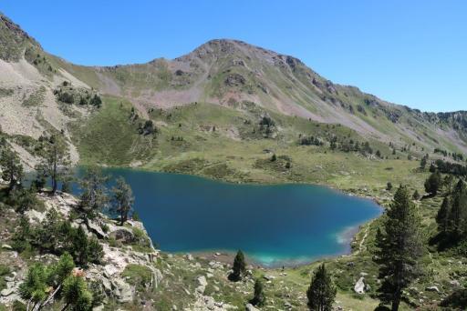 Tour Néouvielle Lac Supérieur Bastan