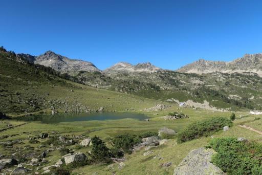 Tour lacs Néouvielle Aygues Cluses