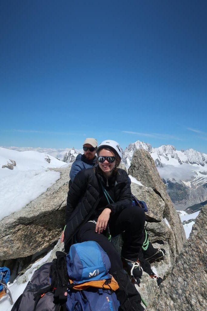 Pointe Lachenal - Alpinisme