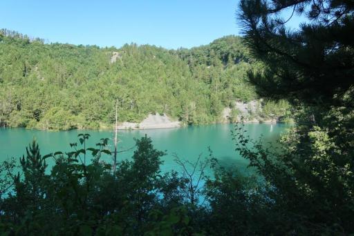 Serre-Ponçon - crique Riou Boudrou