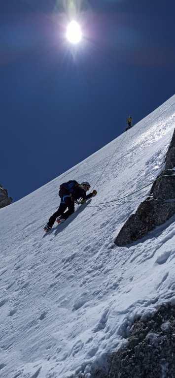 Alpinisme Pointe Lachenal