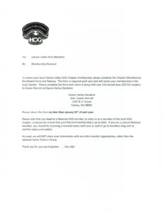 HOG Chapter Membership Packet