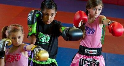 kids muay thai yakın savunma