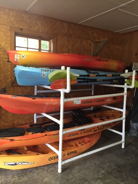 Diy Kayak Rack Yak Outlawsyak Outlaws For All Things Kayak And Sup Fishing