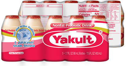 Yakult product information and nutrition facts | Yakult & Yakult Light |  Probiotic Drink