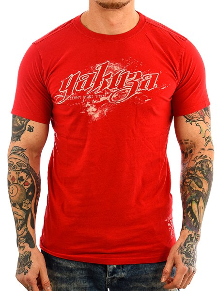 Yakuza T-Shirt TS 23 ribbon red_2