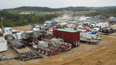 Hydraulic fracturing Marcellus Shale