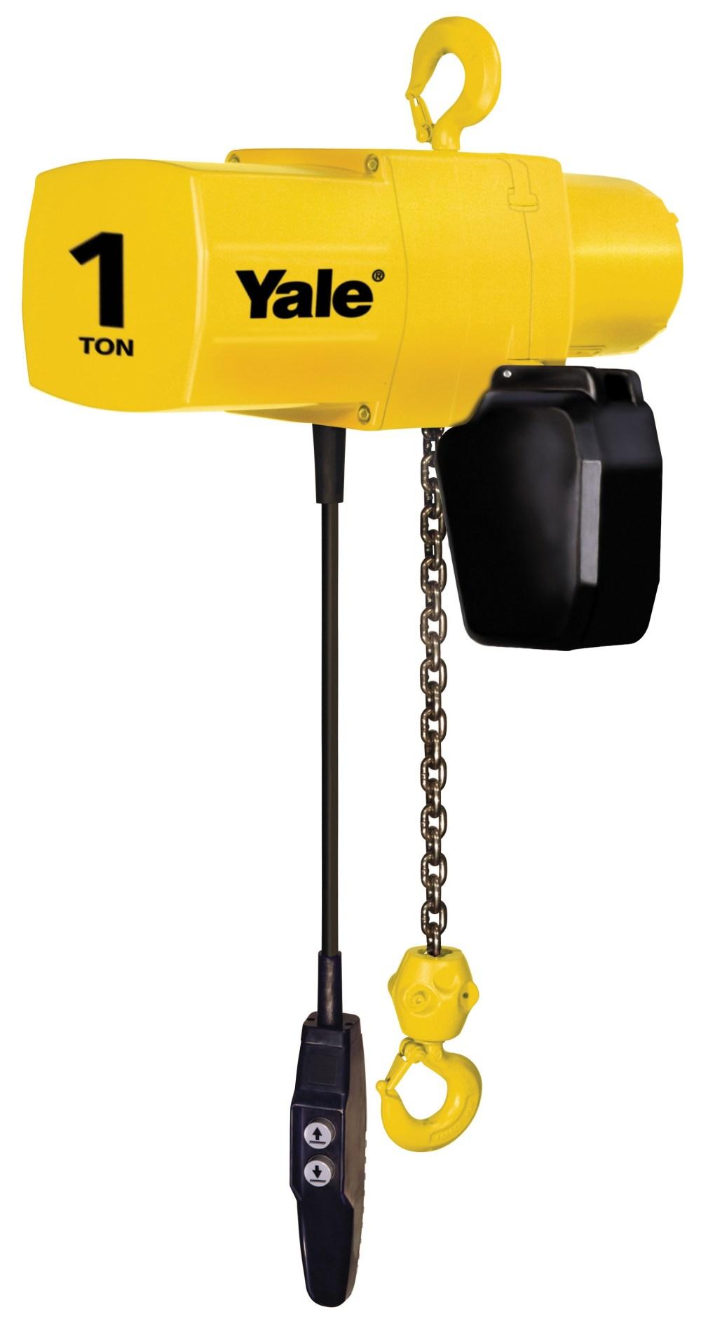 medium resolution of yale yjl electric chain hoist 1 2 ton yale yjl 3 ton yale hoist wiring diagram