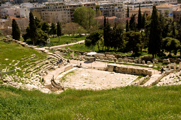 Theater of Dionysus, Athens Acropolis