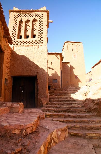 Ksar Ait Ben Haddou, near Ouarzazate, Morocco