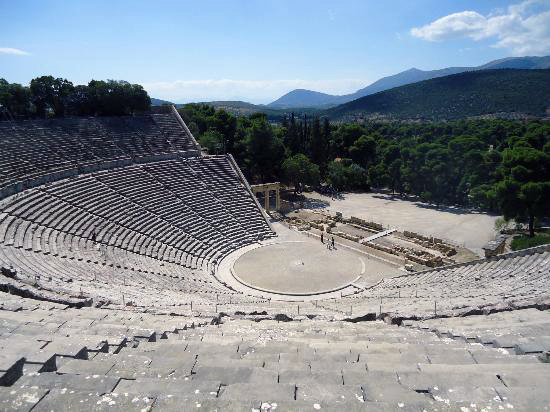 Theater of Epidaurus, Greece