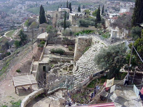 City of David archaeological park, Jerusalem - This is how it looks today, more or less, excavations are on-going.