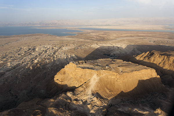 Masada and the Dead Sea in Israel, photo by Itamar Grinberg, courtesy of the Israel Ministry of Tourism