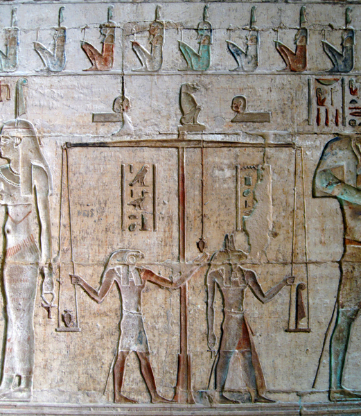 Temple of Hathor from the Ptolemaic period, more than 1,000 years after Kha and Meryt lived in Deir el-Medina