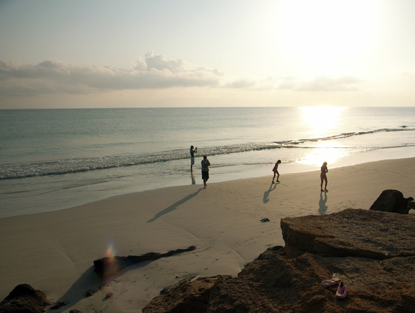 Fins Beach, Oman