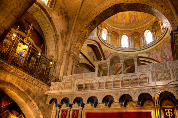 Church of the Holy Sepulchre, Jerusalem, Israel, photo by Noam Chen, courtesy of the Israel Ministry of Tourism