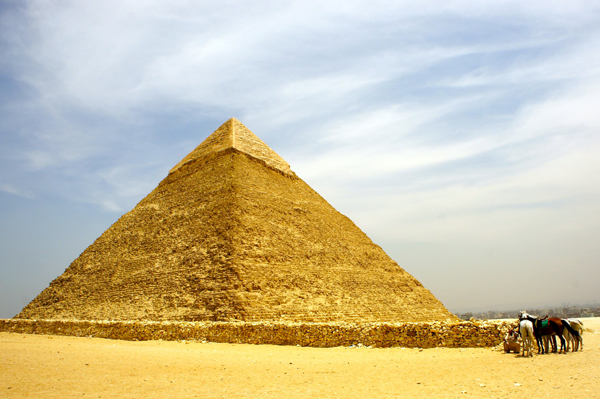 Pyramid of Khafra at Giza