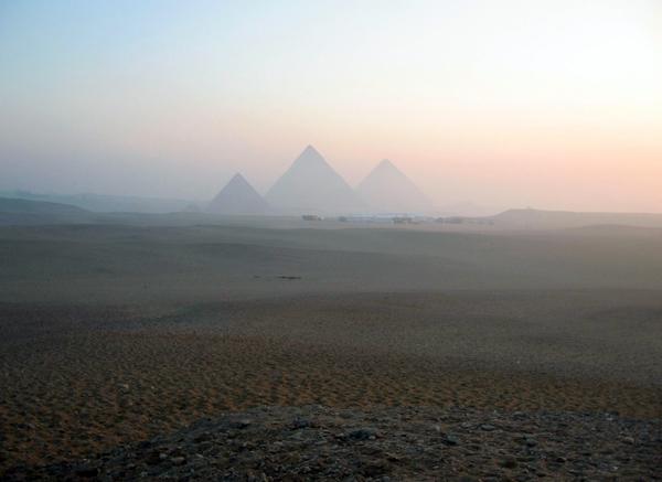 Sunrise at Giza