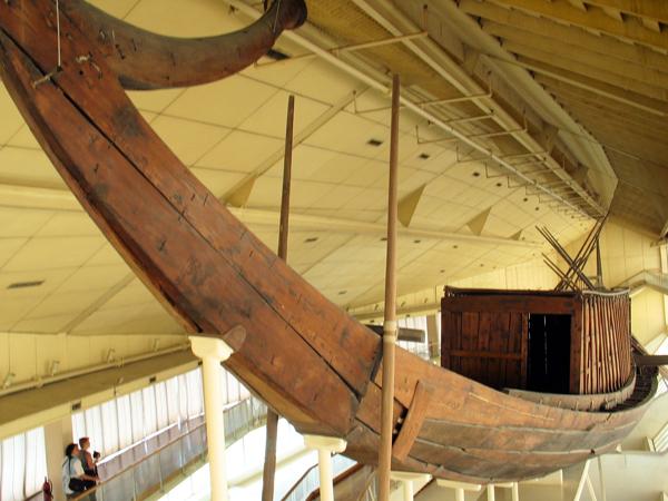 the Solar Boat, Giza, Egypt