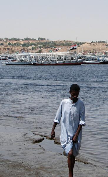 on the Nile at Aswan