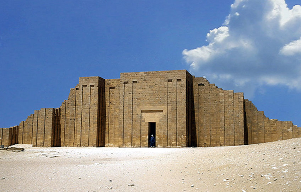 funerary temple at Sakkara